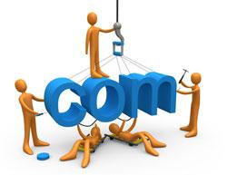 Trasferimento dominio registrazione dominio servizio hosting creazione sito web gestione sito web